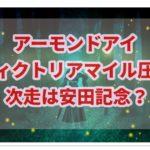 アーモンドアイが圧勝でヴィクトリアマイル制覇!!次走は安田記念!?