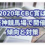 CBC賞【2020年】想定と過去データから注目馬を予想!!