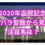 函館記念【2020年】過去データから注目馬を紹介!!強運数字を持つ馬とは