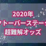 オクトーバーステークス【2020年】を振り返り!!朝イチオッズの教訓は?
