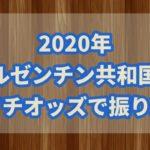 アルゼンチン共和国杯【2020年】枠連法則で検証!!穴馬の抽出方法