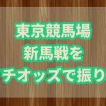 東京ダート新馬戦を朝イチオッズで振り返る!!激戦を制した馬に注目