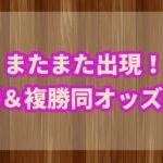 競馬のオッズ勝ちパターン!!単複同オッズ馬に要注意!!