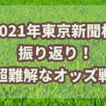 東京新聞杯【2021年】振り返り!!超難解なオッズで予測不能??