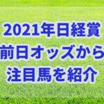 日経賞【2021年】の前日オッズから注目馬を紹介!!