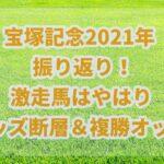 宝塚記念【2021】振り返り!!グランプリもオッズ理論で読み解く