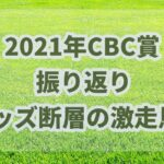 CBC賞【2021年】振り返り!!オッズ断層で注目馬が激走!!
