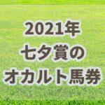 七夕賞【2021年】振り返り!!枠連人気と枠連出目で激走枠がわかる?